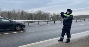 В Севастополе инспекторы ГИБДД провели операцию «Скорость»
