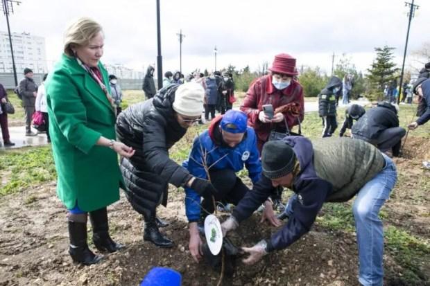 Город-Герой Севастополь дал старт международной акции «Сад памяти»