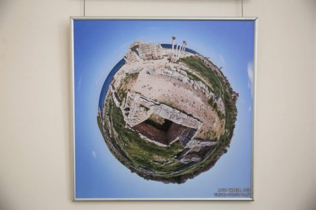 В Херсонесе Таврическом презентовали выставку «Планета Херсонес»
