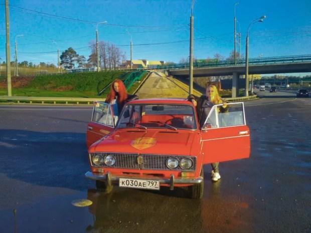 """1 мая в Крыму - авторалли ретроавтомобилей """"Нахимов"""""""