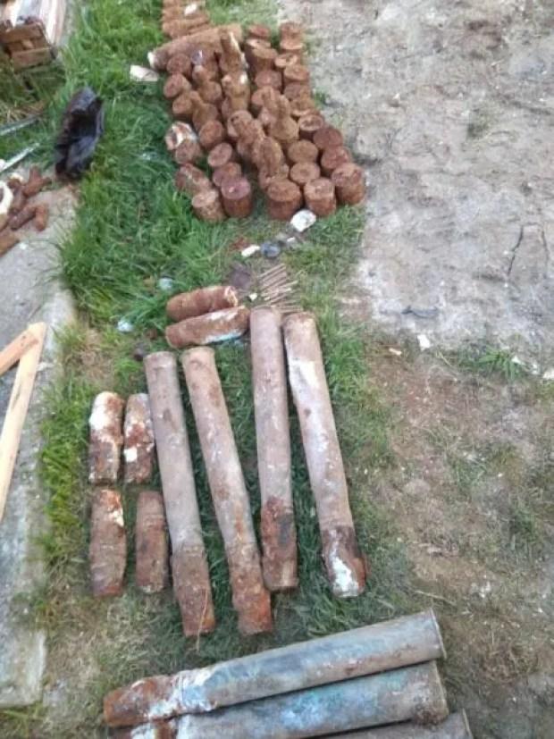 На Северной стороне Севастополя обнаружили склад боеприпасов