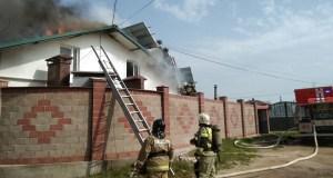 Воскресный пожар в Севастополе: горел частный дом