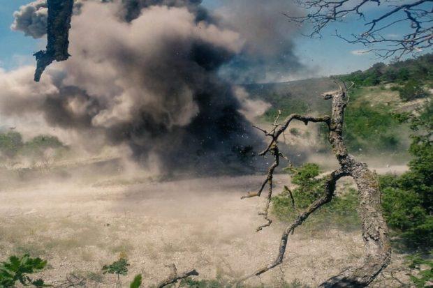 Севастопольские пиротехники МЧС России одновременно уничтожили пять авиабомб