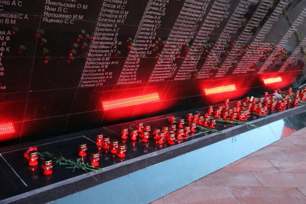 """""""Зажги свечу памяти"""" – традиционная акция на территории мемориального комплекса """"Концлагерь """"Красный"""""""