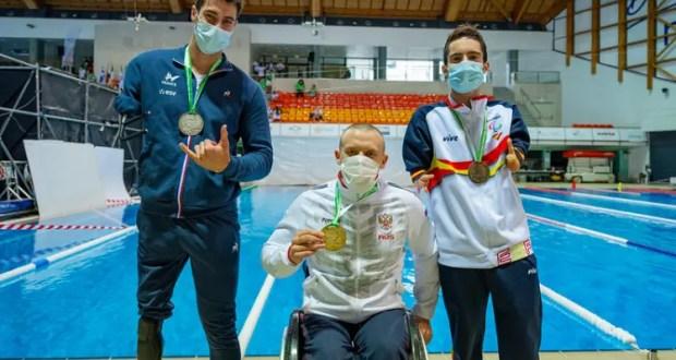 У параспортсмена из Севастополя Андрея Граничка - пять медалей чемпионата Европы в Португалии