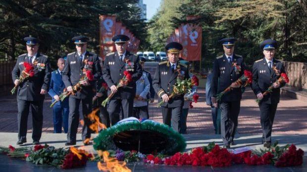 В Крыму начали отмечать День Победы