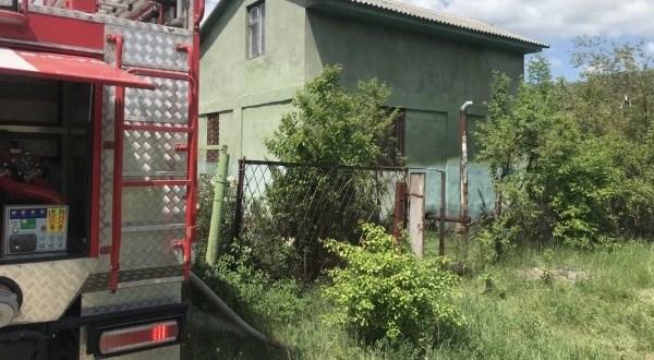 Пожар в крымском селе Перевальное: горела баня