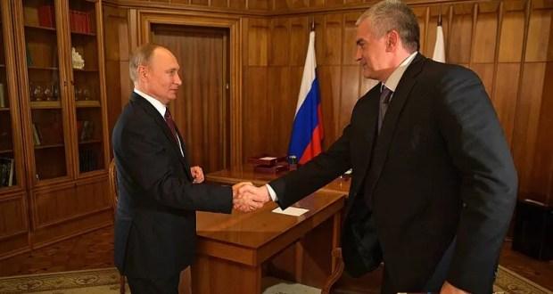 Владимир Путин наградил крымчан орденами