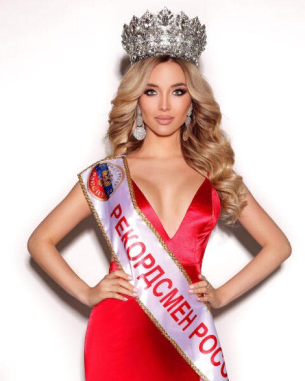 Красота спасёт мир: крымчанка Юлия Павликова установила мировой рекорд. А точнее - два