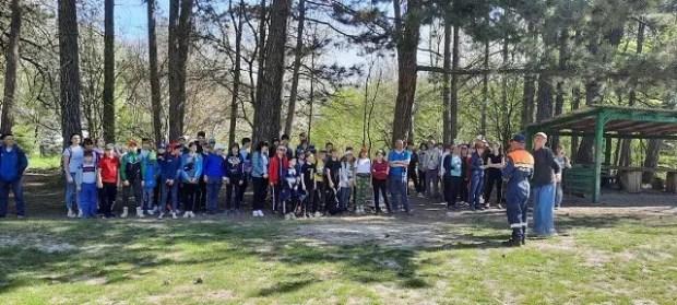 В Крыму стартовал Марш школьников по местам боевой славы