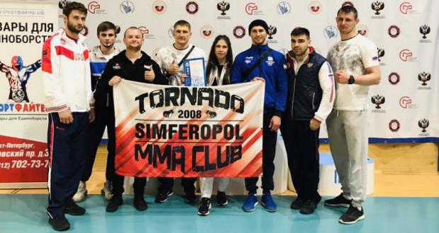 Крымчане дебютировали в чемпионате России по спортивной борьбе панкратион