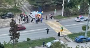 ДТП в Севастополе: прямо на «зебре» водитель-торопыга сбил девушку