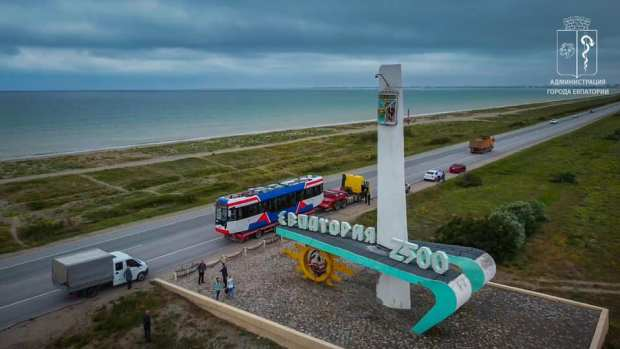 В Евпатории на линию выйдет новый трамвай