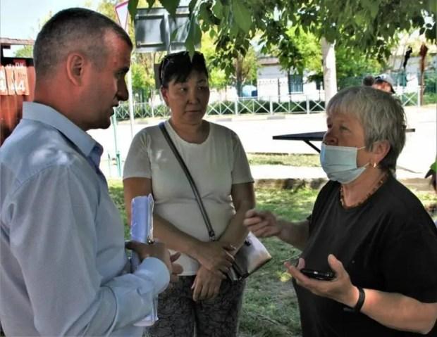 Лидер Севастопольского «Добровольца» Дмитрий Голиков благодарит за доверие