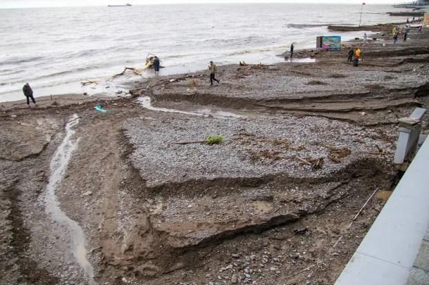 В Ялте продолжается ликвидация последствий буйства стихии