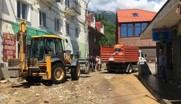 Самая сложная ситуация на ЮБК – в поселке Кореиз