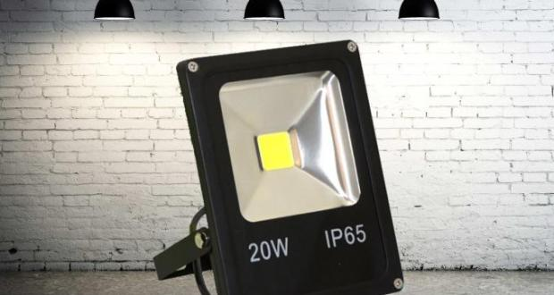 Светодиодный прожектор 20 ватт 12/24В