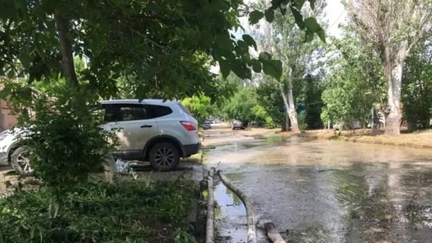 Информация о ликвидации последствий ЧС, связанной с подтоплениями в Керчи и Ялте – вечер 18 июня
