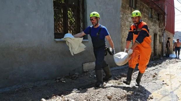 Информация МЧС о ликвидации последствий стихии в Крыму по состоянию на конец дня субботы, 19 июня