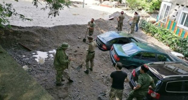 «Центр» о ситуации в Крыму. Помощь идет