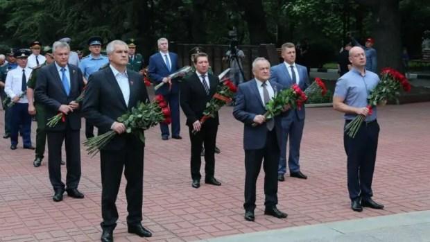 В Крыму почтили память воинов, павших в годы Великой Отечественной войны