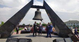 На территории Мемориала «Красный» открыты памятные знаки воинам, павшим в Великой Отечественной войне