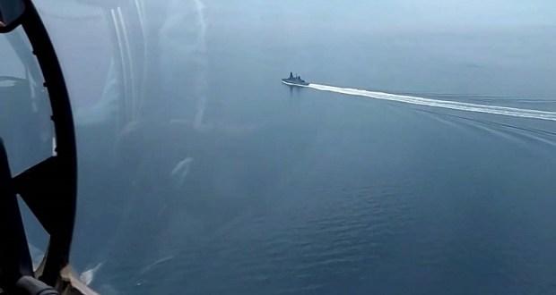 ВВС: найдены секретные документы о проходе британского эсминца у берегов Крыма