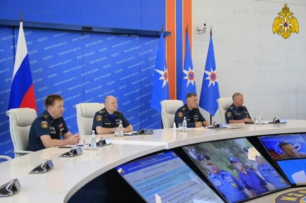 В МЧС готовы отреагировать на ухудшение ситуации в Крыму