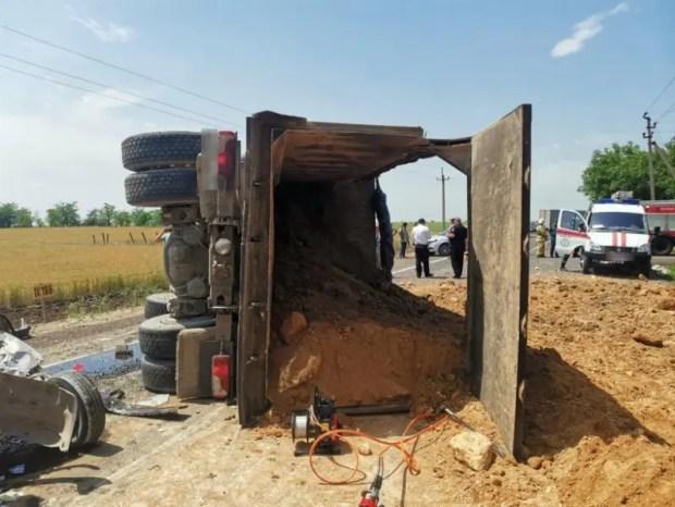 ДТП на автодороге Евпатория-Черноморское. Полиция проводит проверку