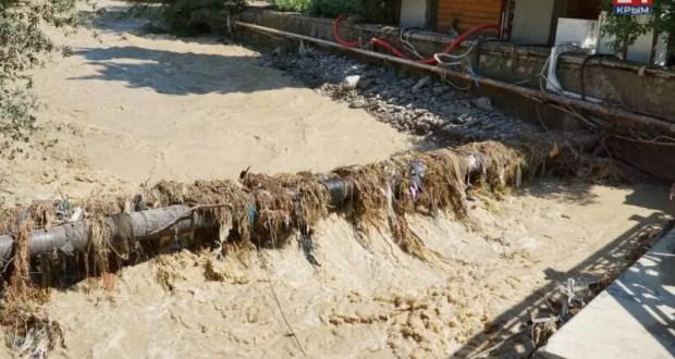 В Ялте постепенно налаживается централизованное водоснабжение