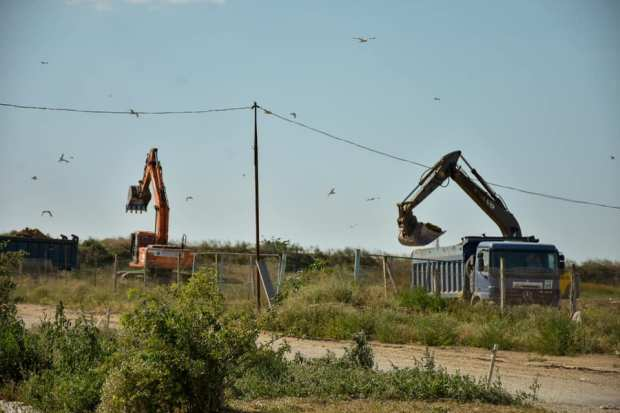 Пожар на мусорном полигоне под Евпаторией: превышение концентраций загрязняющих веществ не выявлено