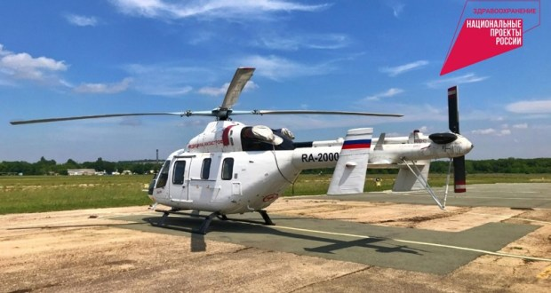 За первое полугодие санитарная авиация Крыма осуществила 97 вылетов