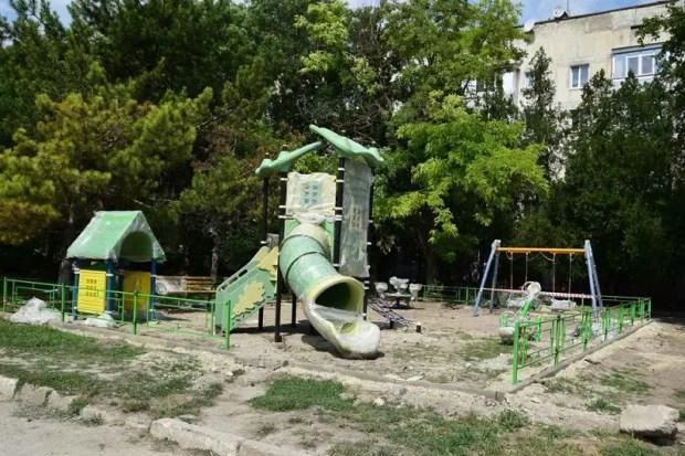 Новые детские площадки в Симферополе. Адреса