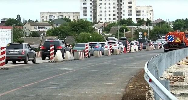 Участок трассы на Евпаторию в городе Саки откроется после ремонта 10 июля