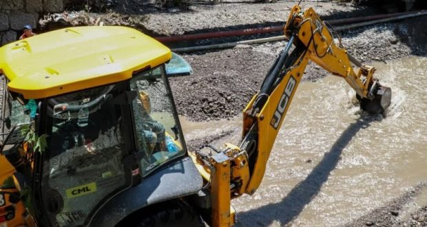 Информационная сводка о подтоплении в Керчи и Ялте. Утро 5 июля
