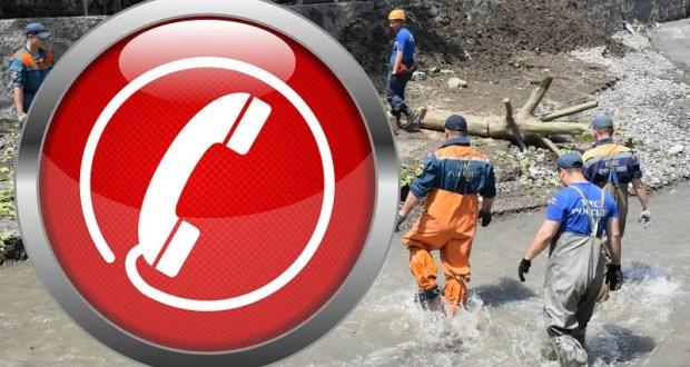 В Крыму работают телефоны «горячих линий» для граждан, попавших в зону подтопления