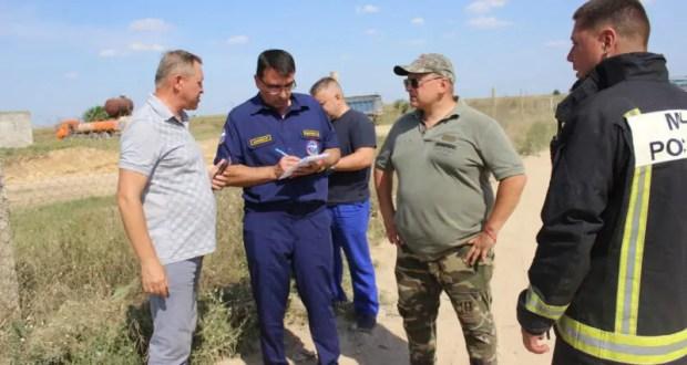 Ситуация на полигоне ТБО под Евпаторией - на контроле МЧС и правительства Республики Крым