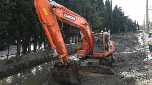 Информационная сводка о подтоплении в Керчи и Ялте. Утро 23 июля