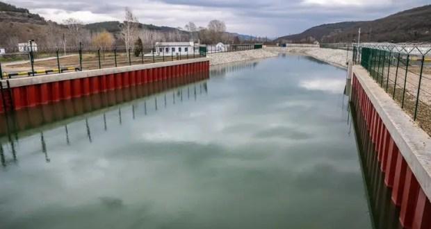 Водозабор на реке Бельбек под Севастополем выдержал удар стихии