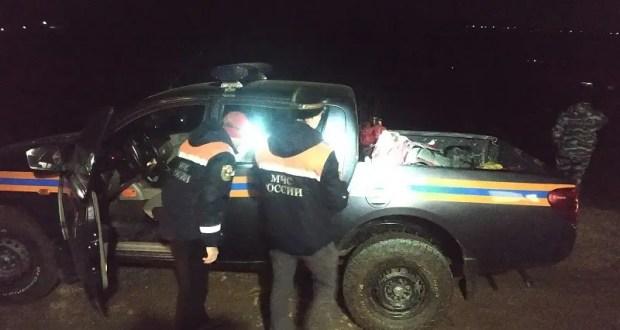 Ночью в горах под Судаком спасали семью туристов