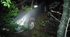 На въезде в Алушту водитель не справился с управлением, пострадал ребёнок – пассажир авто