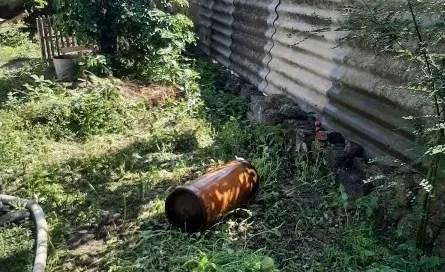 Крымские огнеборцы ликвидировали пожар и не допустили взрыва газового баллона