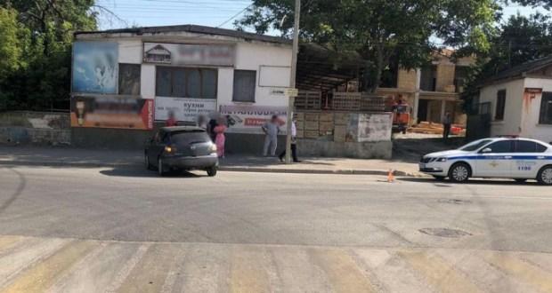Утреннее ДТП в Симферополе: под колесами «Мазды» оказался велосипедист