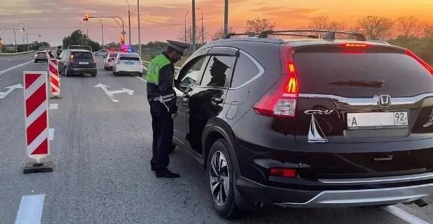 Вниманию автомобилистов: на дорогах Севастополя ночная операция «Нетрезвый водитель»