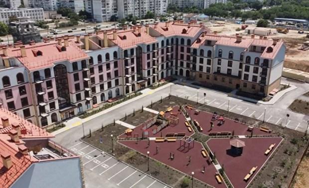 В Евпатории реализуется инвестиционный проект по строительству жилищного комплекса