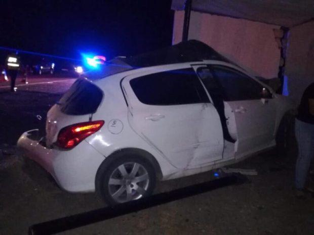 Смертельное ДТП в Ленинском районе Крыма: погибла женщина -водитель «Пежо»