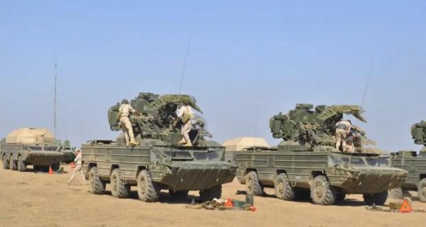 Зенитно-ракетный полк Черноморского флота проводит учение по прикрытию аэродромов