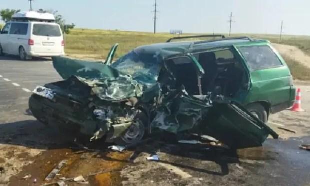 Два ДТП на крымских дорогах – двое пострадавших
