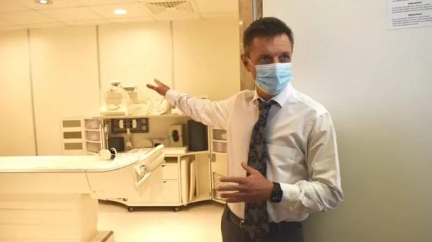 В Евпаторийской горбольнице открылось модульное здание для размещения магнитно-резонансного томографа
