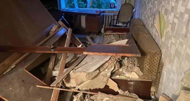 В пятиэтажном доме в центре Симферополя произошел хлопок газа. Двое пострадавших